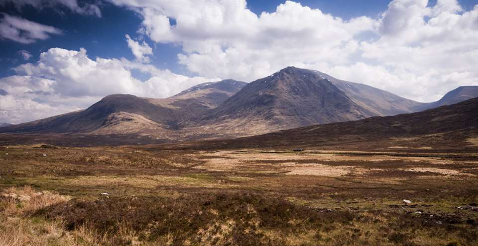 Travel to Rannoch Moor from Eriska