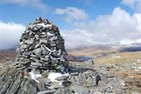 Sgor Gaibhre and Carn Dearg from Corrour