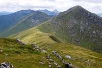 Sgurr Mor and Sgurr an Fhuarain, Loch Arkaig