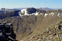 Meall a'Bhuridh and Creise from White Corries