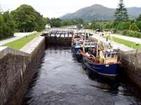 Neptune's Staircase and the Canal, Banavie